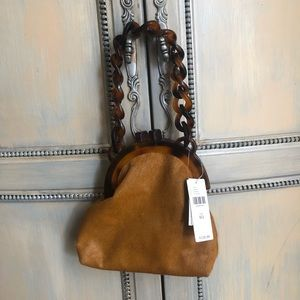 Anthropologie Bags - NWT Anthropologie Lucite Chain Clutch